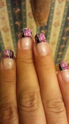 Camo nails @Terri Williams Hock