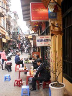 Bun bo nam bo, Hanoi, Vietnam