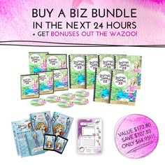 Cyber Monday Deal! (T-10 HOURS!)  If you buy the Biz Bundle of the 2016 workbook collection by midnight PST TONIGHT, we're going to do something we have NEVER done before!  You've got approximately 10 hours left to snag our most requested business e-course for FUH-REEEEEE! AND AN EXTRA AWESOME MUCH-COVETED BONUS!  You will ALSO get the printable PDF of the sold out to do list pad. You can print + laminate + use to your heart's content, forever and ever!