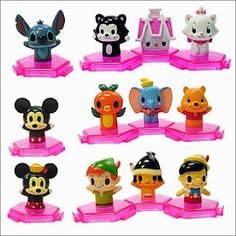 Disney Gashapon capsule toys from Japan