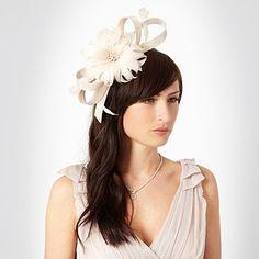 Natural meshed loop headband - Fascinators - Hats & fascinators - Women -