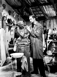 "Vincent Price in ""House Of Wax"" (1953)"