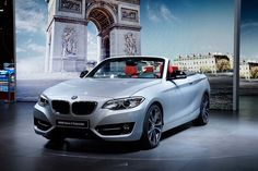 2015 BMW 2-Series Convertible (F23) makes world debut at 2014 Paris Motor Show [Live Photos]  http://www.4wheelsnews.com/2015-bmw-2-series-convertible-f23-makes-world-debut-at-2014-paris-motor-sho/  #bmw #2seriescabrio #mondialauto