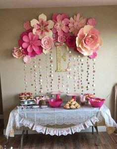 Pink and Gold Baby Shower Party Ideas - . Pink and Gold Baby Shower Party Ideas – Shower Party, Baby Shower Parties, Baby Shower Themes, Baby Girl Babyshower Ideas, Shower Favors, Dyi Baby Shower Decorations, Baby Shower Wall Decor, Baby Sprinkle Decorations, Pink And Gold Decorations