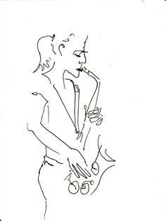 sax no. Saxophone Instrument, Saxophone Players, Jazz Painting, Jazz Players, Birthday Tattoo, Jazz Poster, Jazz Art, Jazz Blues, Book Cover Design