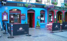 """""""The Quays Pub in Galway, Ireland."""" (From: 50 Beautiful Photos of Ireland)"""