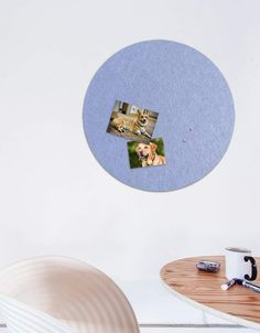 Circle Pinboard, Large in Peri Whiteboard, Wall Spaces, All Design, Fiber, Decals, Strong, Shapes, Texture, Pets