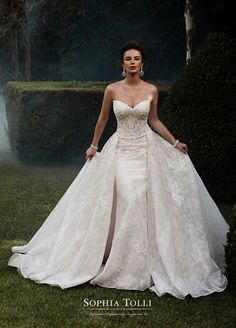 a9655cdf71d Ericdress Beautiful Lace Mermaid Plus Size Wedding Dress Lace Wedding  Dresses In Uk Wedding Dress Detachable