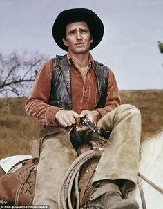 James Drury, TV western legend and star of The Virginian, dead at 85 from natural causes Shiloh Ranch, James Drury, The Virginian, Tv Westerns, Western Movies, John Wayne, Having A Crush, Classic Tv, Movie Tv