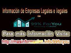 Información de Empresas Legales e Ilegales de 99 ForYou - YouTube