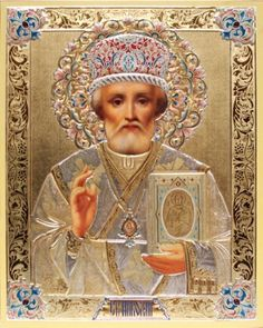 Russian Icon - St. Nicholas