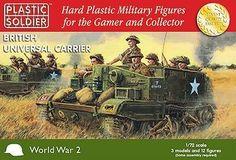 Plastic Soldier 1/72 WWII British Universal Carrier (3) Kit