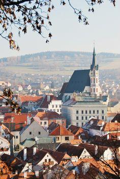 "fairytale-europe: "" "" Český Krumlov, Czech Republic (submitted by saturatedxsky) "" """