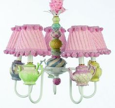 Teapot Lamp - Inanity and the Girl: August 2011