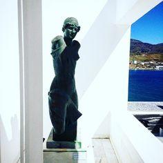#andros #cyclades #greece #goulandrismuseum #sculpture #museum #grecia #ellada #instalovers #instalike #instalikes  #instagood #instamood #vsco #vscocam #instadaily  #instagram #instagramers #latergram #travel #traveller #travelling #travelgram #greecestagram #greece🇬🇷 #greecelover_gr #cycladesislands #hellas #art #blue