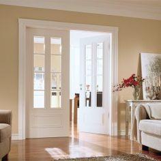Uşă dublă de interior vopsită HGM ROMANTIK 3220 Sprossen