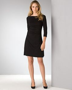 Mark wants me to stay away from black but I love this dress!