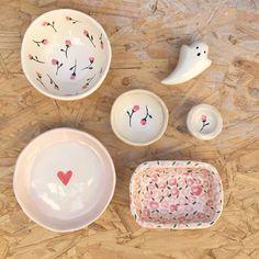 Ceramic Clay, Ceramic Painting, Ceramic Pottery, Pottery Art, Diy Clay, Clay Crafts, Diy And Crafts, Clay Art Projects, Ceramics Projects