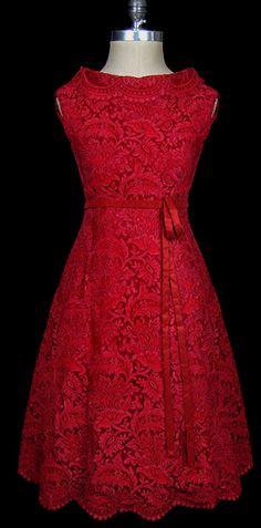 Valentino Red....vintage breathtaking detailed Valentino