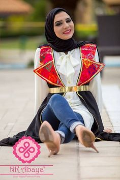 oriental cardigan style Hijab fashion outfits by Nk designs http://www.justtrendygirls.com/hijab-fashion-outfits-by-nk-designs/