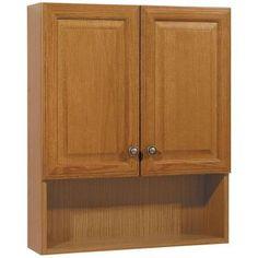 "zenith 24"" oak tri-view medicine cabinet $50 menards (30"" is $74"