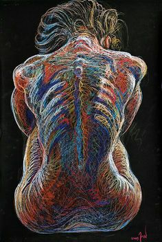 human backbone nude study