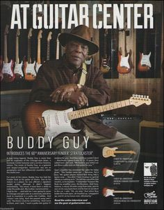 Buddy Guy presents the 60th Anniversary Stratocaster