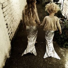 mini mermaids.
