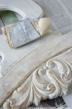 Shabby chic and contemporary décor – Self Home Decor Furniture Painting Techniques, Paint Furniture, Furniture Makeover, Paint Techniques, Vintage Diy, Shabby Chic Style, Contemporary Decor, Chalk Paint, Vintage Furniture