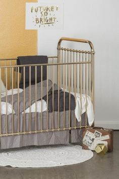 Ellie cot by Incy Interiors - in rose gold