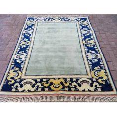 El Dokuması İzmir Antik Yörük El Halısı 212X248
