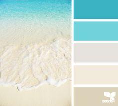 Beach colours