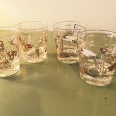 A personal favorite from my Etsy shop https://www.etsy.com/listing/270474366/old-fashion-glassware-vintage-mad-men