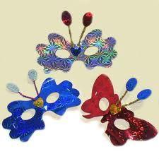 Mascara mariposa manualidades y reciclaje pinterest mascaras craft and glitter crafts - Mascaras para carnaval manualidades ...