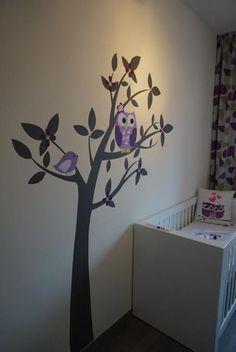 Babykamer Uil / Babyroom owl