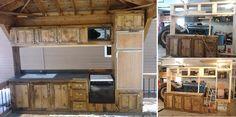 DIY Camper Deck Kitchen