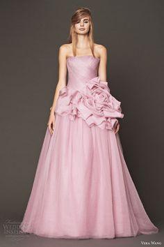 Vera Wang Bridal Fall 2014 Wedding Dresses | Wedding Inspirasi