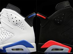 a look at 2 air jordan 6 retros og colorways 01 Sport Blue vs. Infrared: Which Air Jordan 6 Are You Looking Forward To?