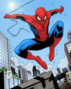 Spider-man by Luca Maresca (colors by me) by MatheusCFoliveira on DeviantArt