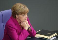 Angela Merkel Regierungserklärung Bundestag