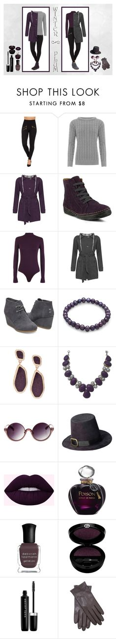 """♡ Winter Plum ♡"" by wearall ❤ liked on Polyvore featuring WearAll, Spring Step, BillyTheTree, Vince Camuto, Linda Farrow, Christian Dior, Deborah Lippmann, Giorgio Armani, Marc Jacobs and John Lewis"