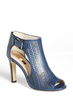 Blue Lazer Cut Heels <3 Love the Color & Design