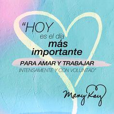 ¡Amamos que seas feliz haciendo lo que haces! ☺✨ #MaryKayAsh #Frases #Quotes
