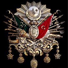 Ottoman Empire Emblem Old Turkish Symbol Turkish Symbols, Beauty Hacks Dark Circles, Blue Roses, Islamic Pictures, Ottoman Empire, God Of War, Special Forces, Coat Of Arms, Istanbul
