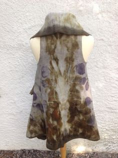 Nicola Brown...felted and eco-dyed.