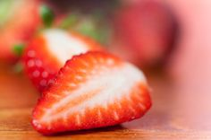 Food photography beautiful strawberries red natural by MagicSky, Kč129.00