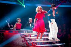 WEEK 4  - Deborah & Robin danced Jive to 'Making Your Mind Up' by Bucks Fizz  Score - (5-6-6-6) = 23