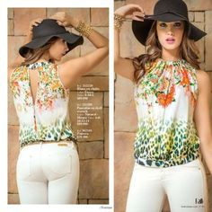 Ebba By Kritterium Fall Collection 2014 3 Blouse Styles, Blouse Designs, Halter Outfit, Cool Outfits, Casual Outfits, Casual Jeans, Sewing Blouses, Trendy Fashion, Womens Fashion