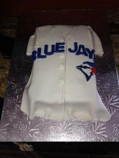 creighton bluejay cake Blue Jays Little League Champs Cakes
