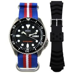 Shop authentic Seiko Automatic Prospex Divers Watch at cheapest price. Fast shipping to USA New Zealand UK Switzerland Canada Australia Japan. Gents Watches, Sport Watches, Cool Watches, Modern Watches, Stylish Watches, Wrist Watches, Seiko Automatic Watches, Seiko Watches, Seiko Skx